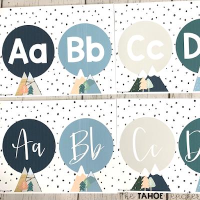 boho-mountain-classroom-decor