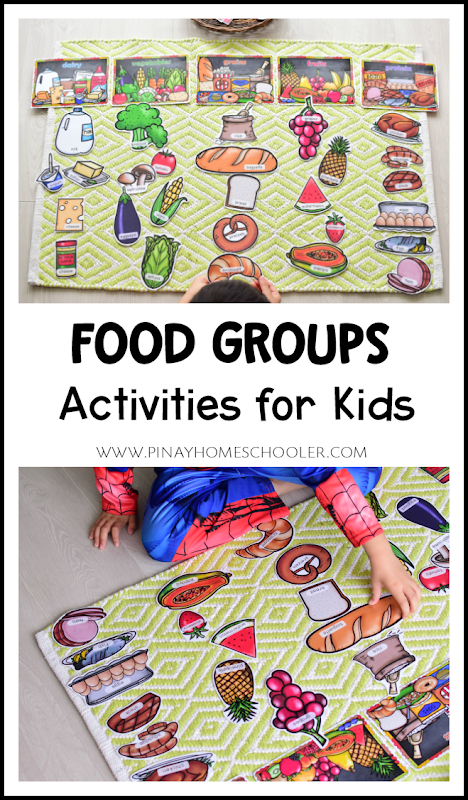 Food Pyramid and Food Groups Activities for Kids