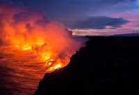 Volcanic Eruption, Hilo, Photo by Mandy Beerley on Unsplash