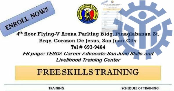 13 TESDA Courses | Free Skills Training