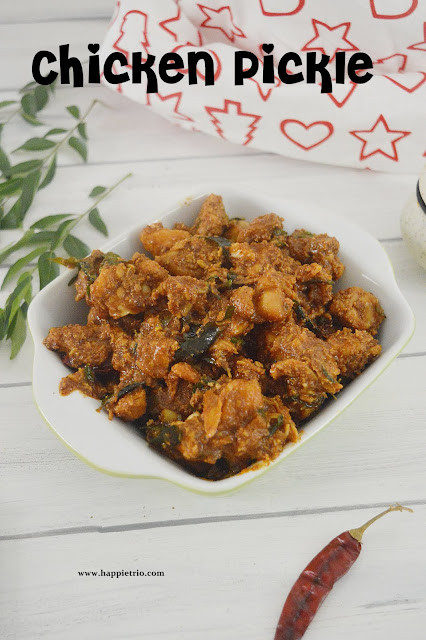 Chicken pickle Recipe | Chicken Achaar
