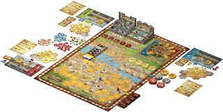 Componentes de Praga Caput Regni the board game