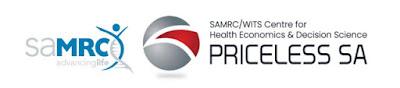 Image of SAMRC Centre for Health Economics and Decision Science- PRICELESS SA logos