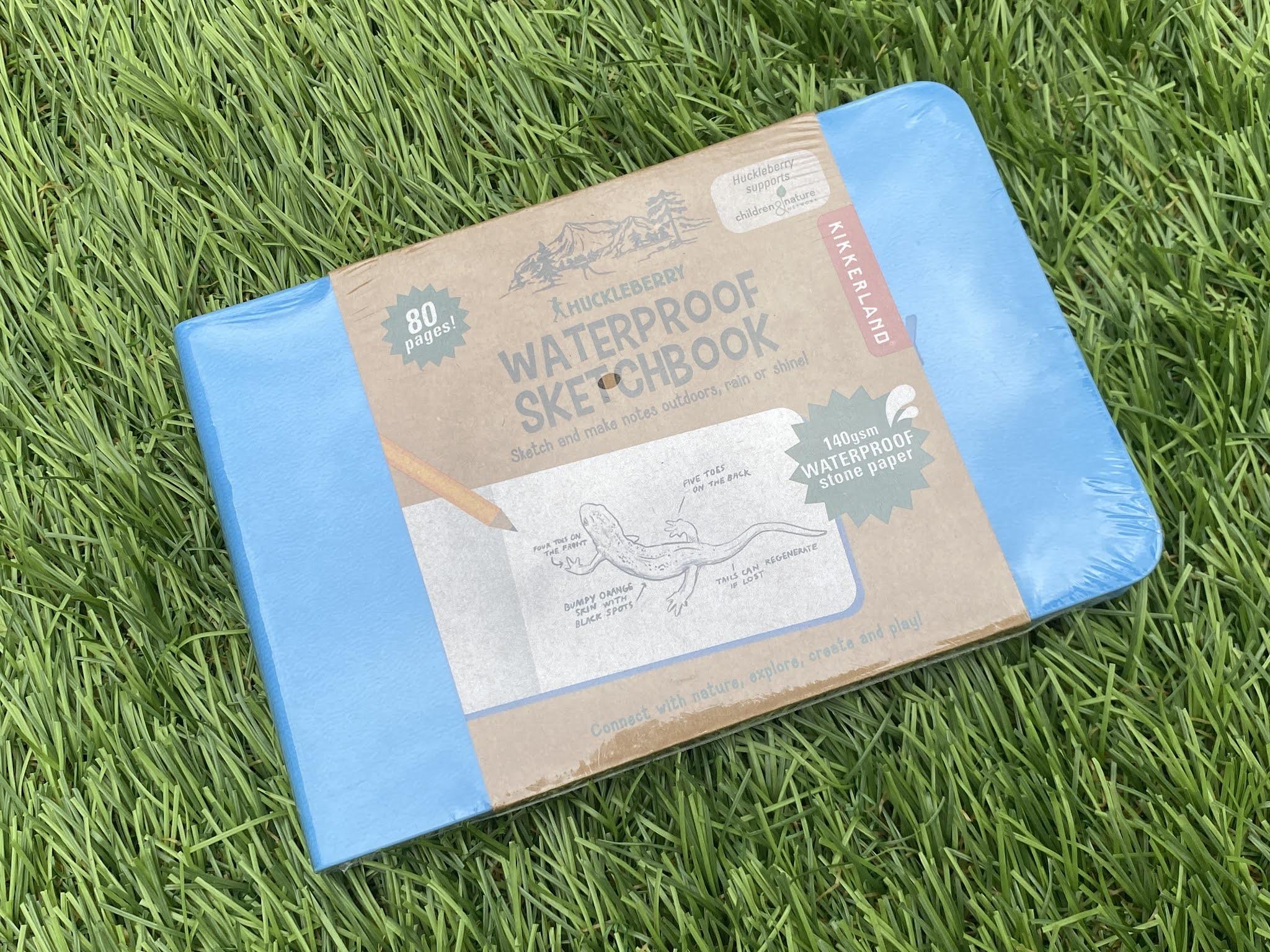 waterproof sketch book