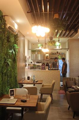spot instagramable pada cafe di Bintaro