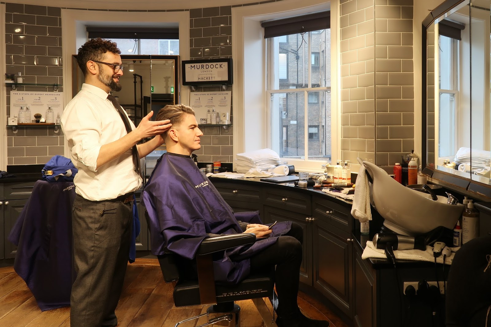 MURDOCK LONDON – BARBER REVIEW