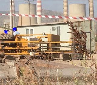 Θανατηφόρο εργατικό ατύχημα στην Κοζάνη.