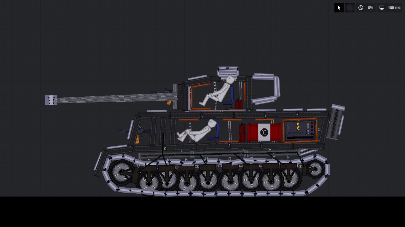 People Playground: Tank Tiger H1