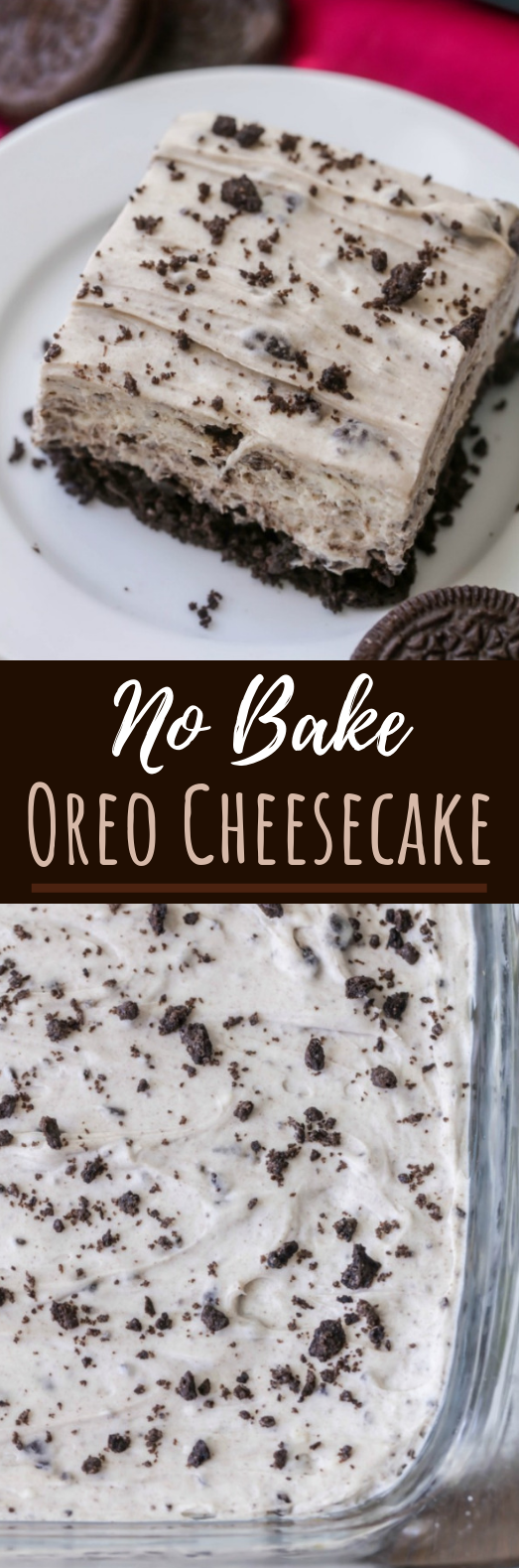 No Bake Oreo Cheesecake #summer #desserts