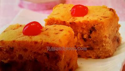 Resep Roti Cake Cherry Lembut dan Legit