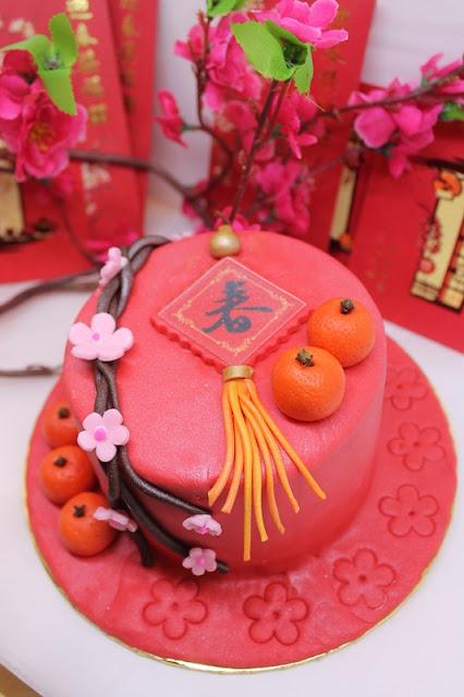 SUNWAY RESORT CAFE CHINESE NEW YEAR 2021 Menu - CNY Cake