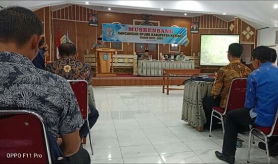 Wakil Bupati Kerinci Ami Taher Pimpin Musrenbang Rancangan RPJMD 2019-2024