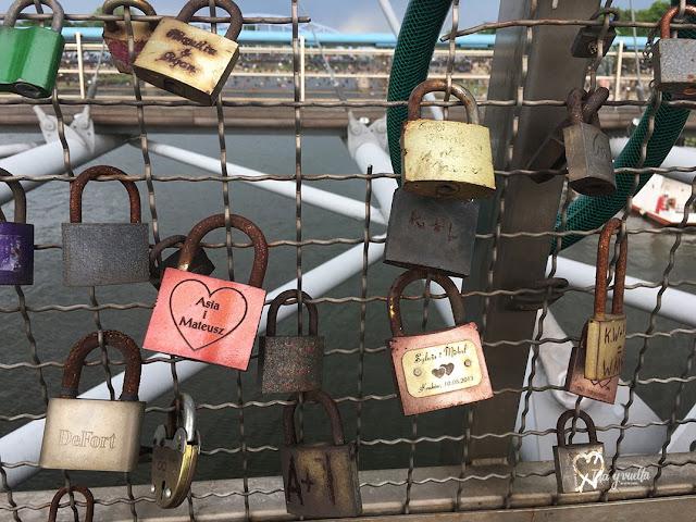 Cracovia fotos en el puente Padre Bernatek