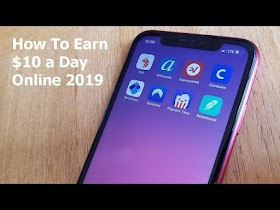 earn money online $10 a day with app make money online how to make money online work from home