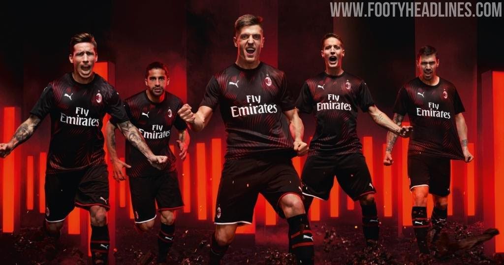 Milan 19 20 Third Kit Released Footy Headlines
