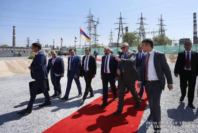 Nueva planta eléctrica de USD250 millones en Armenia