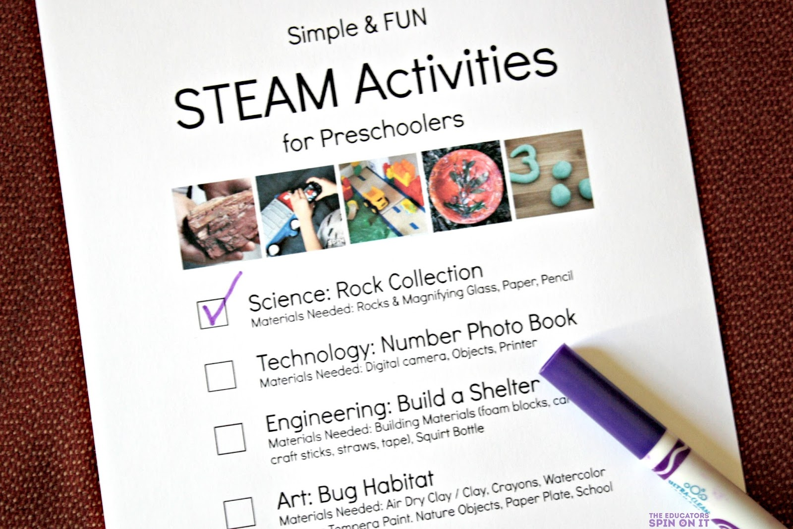The Educators' Spin On It: Simple And FUN STEAM Activities