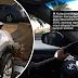 Wanita Arab maut, kereta rempuh tembok ketika sedang belajar memandu