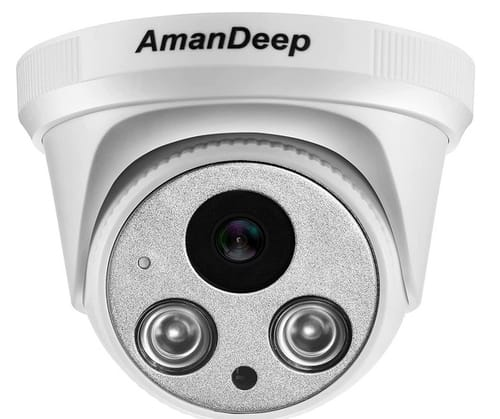 AmanDeep 5MP Ultra HD Security PoE Outdoor Camera
