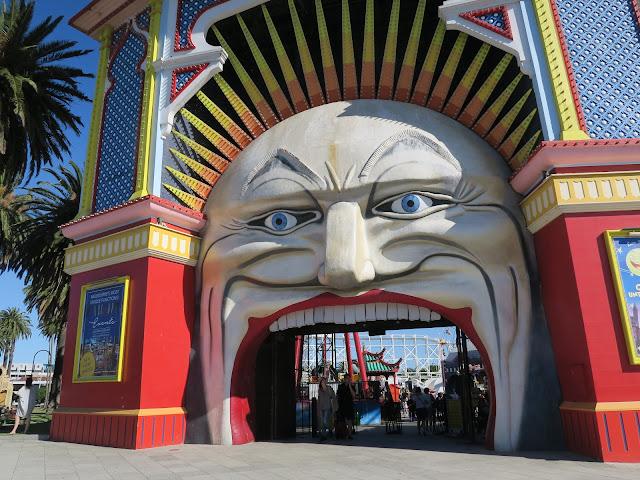 Luna Park St Kilda's beach, Melbourne