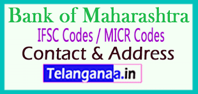 Bank of Maharashtra IFSC Codes MICR Codes in Barabanki City
