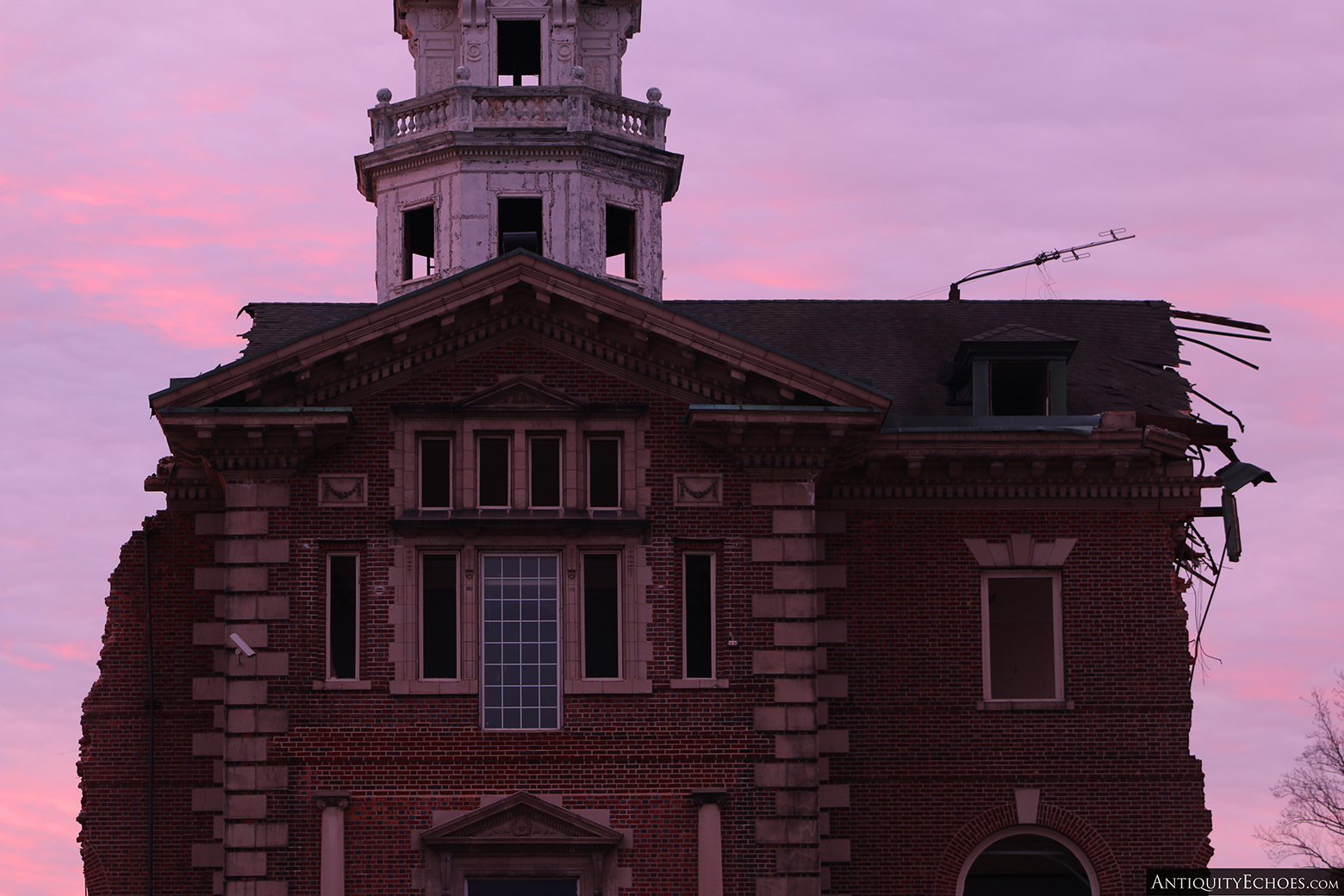 Allentown State Hospital - Demolition - Dawn of the Last Day