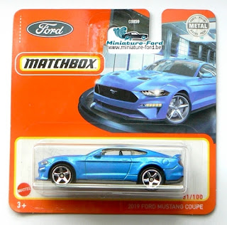 Machtbox, 2019 Ford Mustang coupe