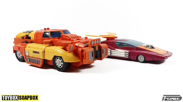 TRANSFORMERS MASTERPIECE HOT ROD