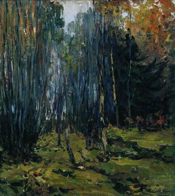 Исаак Ильич Левитан - Осенний лес. 1899
