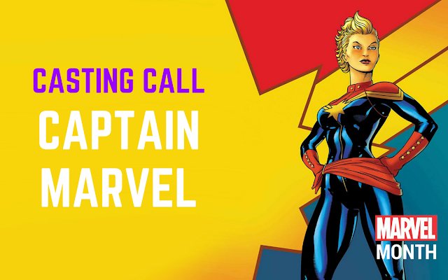 Captain Marvel casting