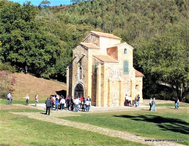 visitar san Miguel de Lillo Oviedo prerromanico