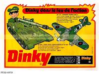 Publicités Dinky Toys de l'année 1973