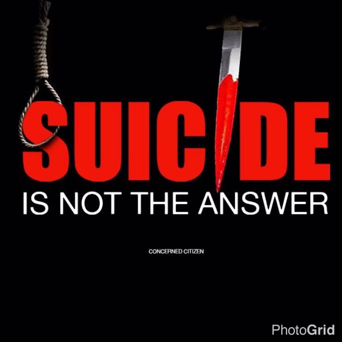 Annie~Joy writes: Suicide Is Not The Answer!!!  Part 1. Be Inspired!