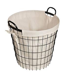 farmhouse hamper basket