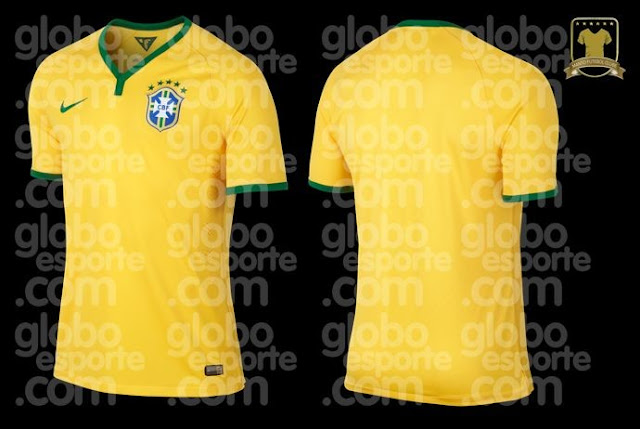 Brazil jersey for 2014 world cup