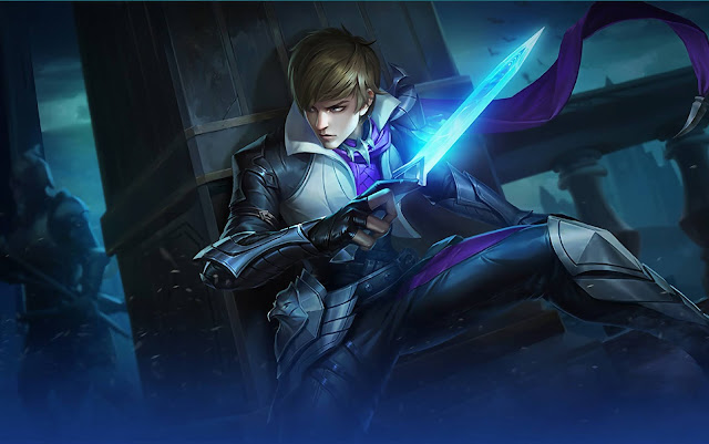 Gusion Holy Blade Heroes Assassin Mage of Skins Mobile Legends Wallpaper HD for PC