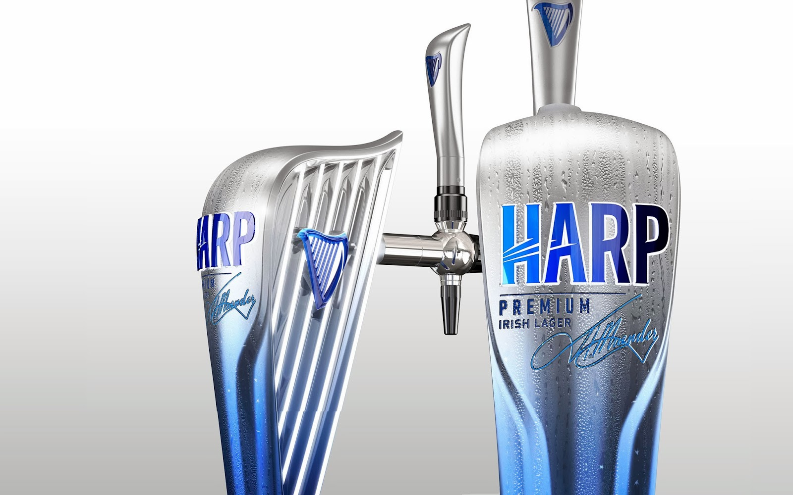 Harp Lager on Packaging of the World  Creative Package