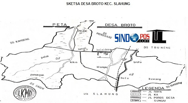 Profil Desa & Kelurahan, Desa Broto Kecamatan Slahung Kabupaten Ponorogo