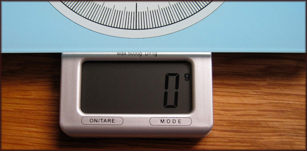 Zassenhaus Digital Kitchen Scales close up