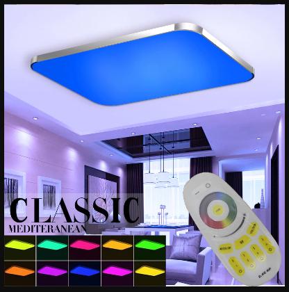 led panel deckenleuchte dimmbar farbwechsel fernbedienung
