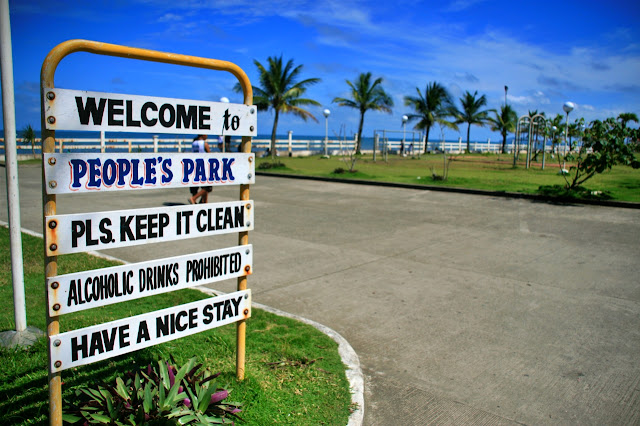 People's Park in Roxas City