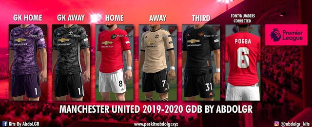 watch c66a7 ef9a0 PES 2013 Manchester United Kits 2019-2020 V2
