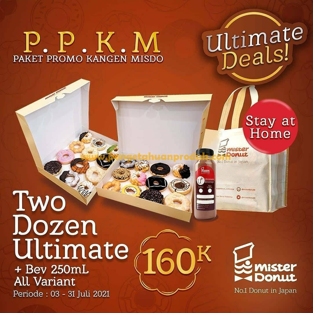 Promo Mister Donut PPKM Juli 2021