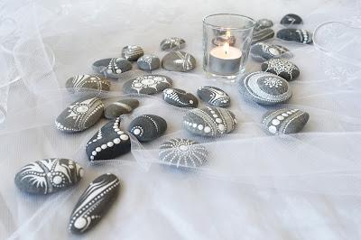 galets peints mandalas anne jacquemin uzes décoration mariage bapteme