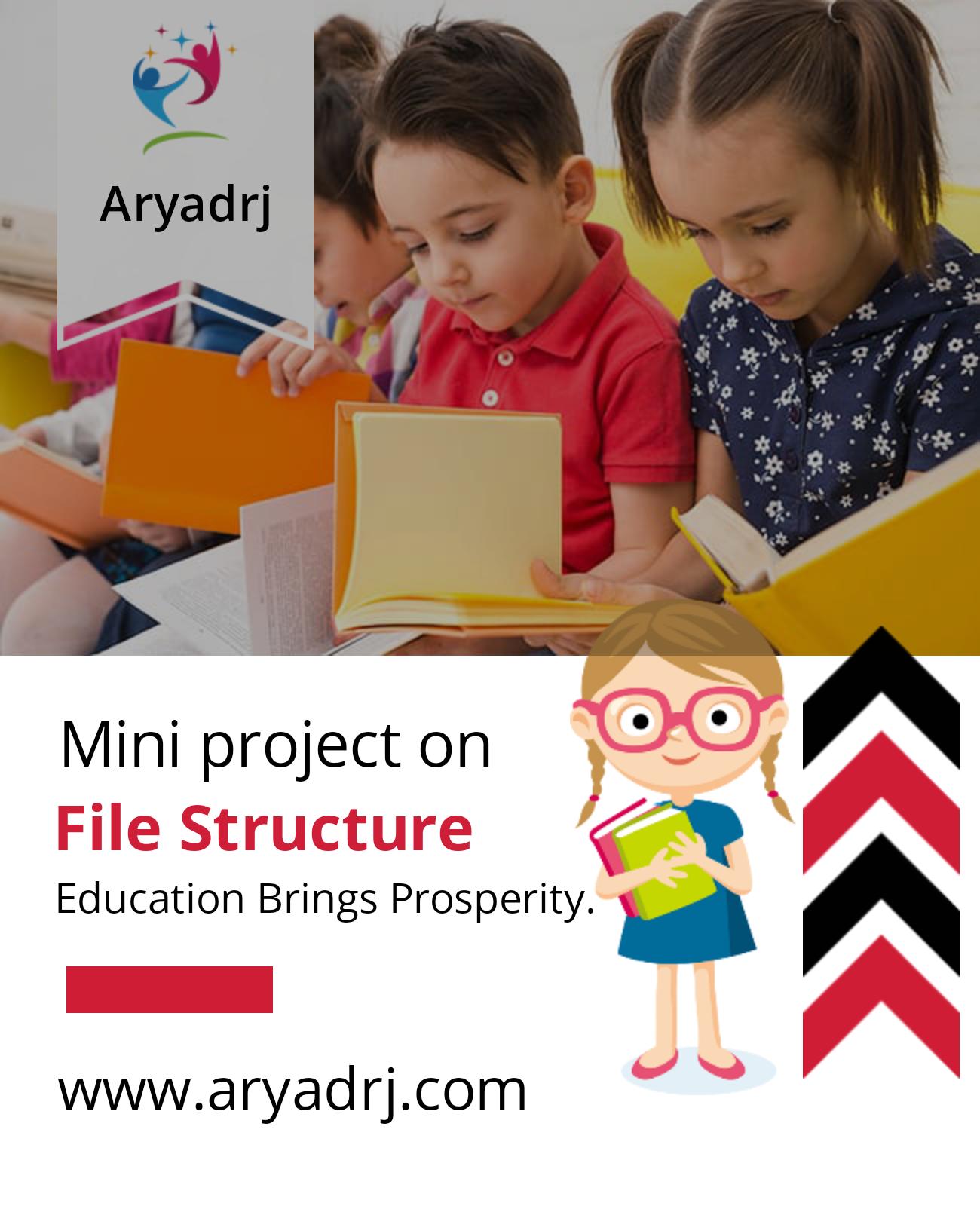 File structure / C++ mini projects