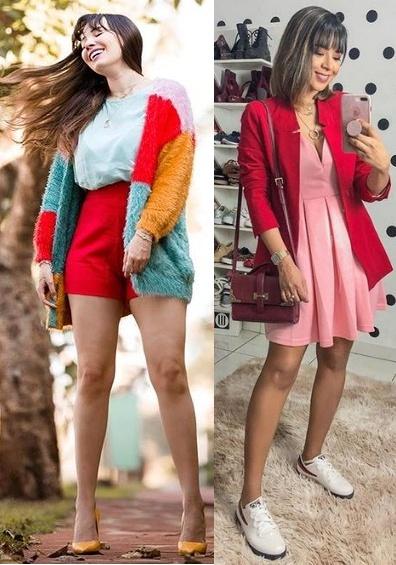 Guia: Como usar Looks Coloridos 2019, Taciele Alcolea, Maanuh Scotá