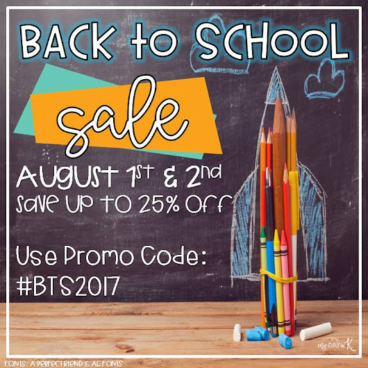 BTS Sale and Target Teacher Giveaway!
