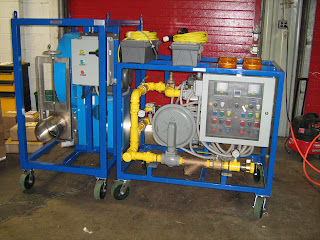 Industrial Heat Treating Gas Train