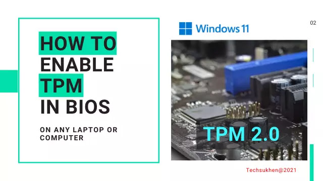 How to enable TPM in bios? The advanced guide for all computer?