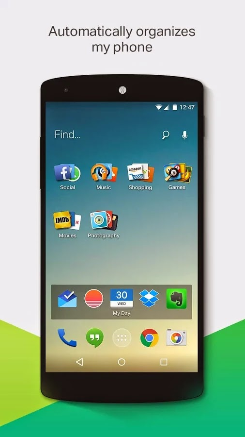 EverythingMe Launcher v3.1646.10625